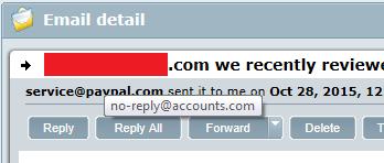 PayPal Phishing 2